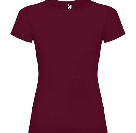 camiseta-mujer-jamaica-borgoña