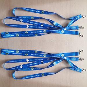 lanyard makito neck azul LOWCOSTSPORT
