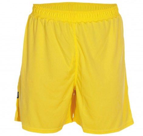 pantalon-deportivo-corto-adulto-calcio-amarillo