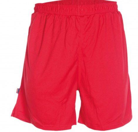 pantalon-deportivo-corto-adulto-calcio-rojo