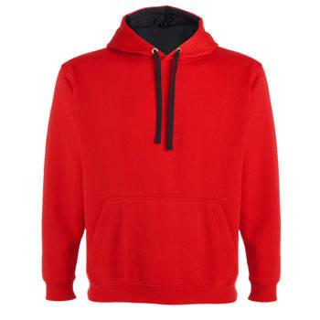 sudadera-de-hombre-con-capucha-bicolor-urban-roly-rojo-negro