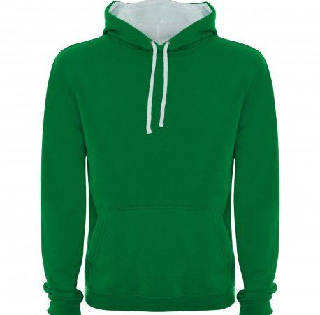 sudadera-de-hombre-con-capucha-bicolor-urban-roly-verdekelly-blanco