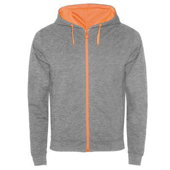 sudadera-hombre-fuji-gris-naranja-fluor