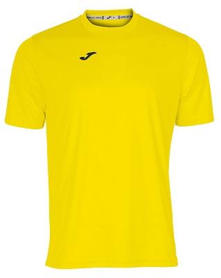camiseta joma combi amarillo