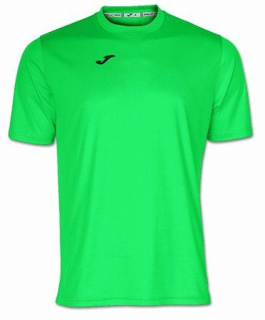 camiseta joma combi verde fluor