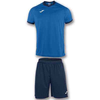 equipacion joma set academy azul