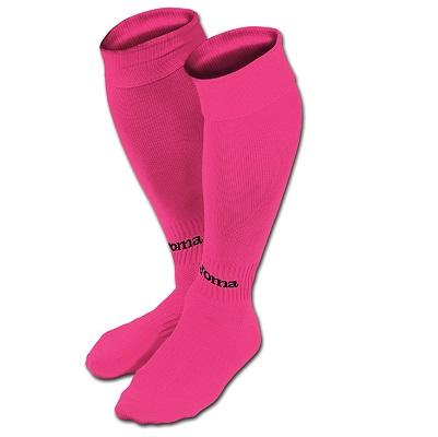 medias joma classic II rosa fluor