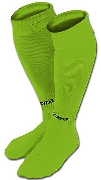 medias joma classic II verde fluor