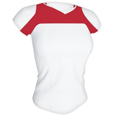 camiseta-tecnica-armour-mujer-blanco-rojo