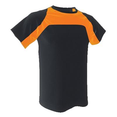 camiseta-tecnica-armour-negro-naranja