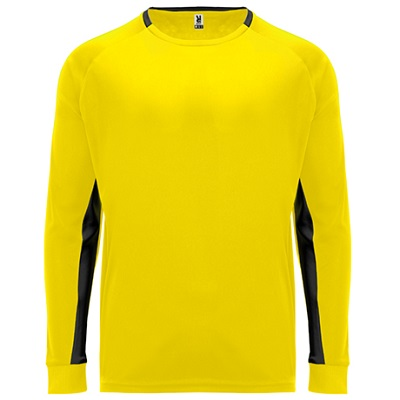 camiseta portero roly modelo porto amarillo delantera