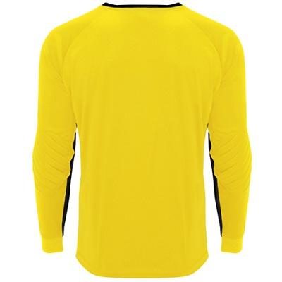 camiseta portero roly modelo porto amarillo trasera