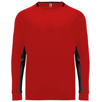 camiseta portero roly modelo porto rojo