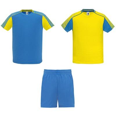 equipacion roly modelo juve amarillo y azul