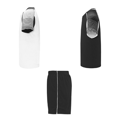 equipacion roly modelo juve blanco y negro lateral