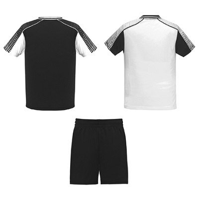 equipacion roly modelo juve blanco y negro trasera
