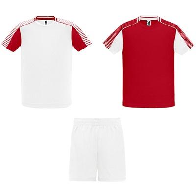 equipacion roly modelo juve blanco y rojo