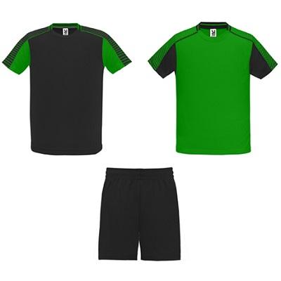 equipacion roly modelo juve verde y negro