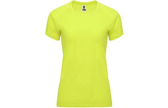 camiseta-tecnica-de-mujer-bahrain-amarillo-fluor
