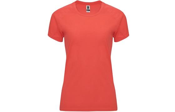 camiseta-tecnica-de-mujer-bahrain-coral-fluor