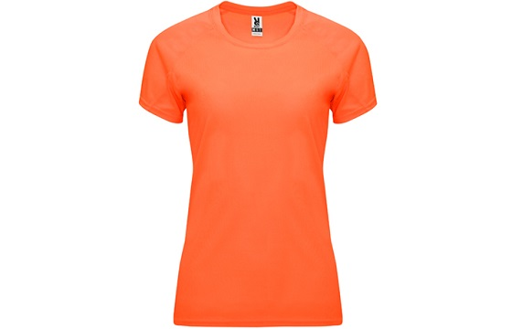 camiseta-tecnica-de-mujer-bahrain-naranja-fluor