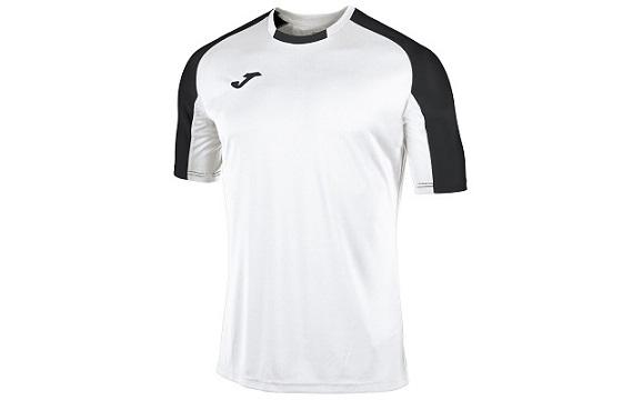 camiseta tecnica joma essential blanco negro