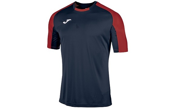 camiseta tecnica joma essential marino rojo