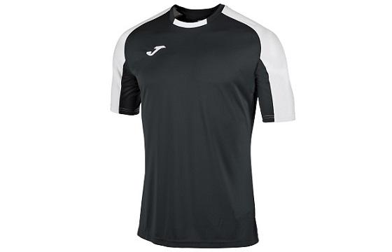 camiseta tecnica joma essential negro blanco