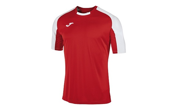 camiseta tecnica joma essential rojo blanco