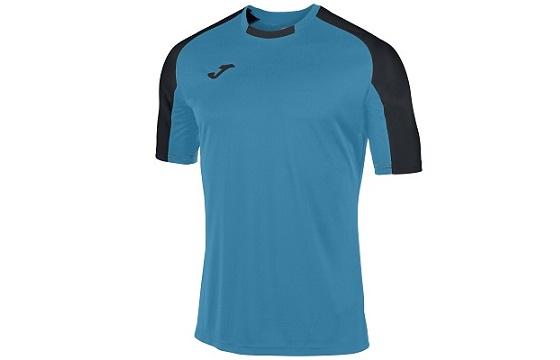 camiseta tecnica joma essential turquesa negro